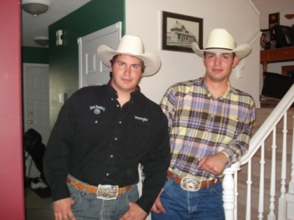 Carey Price da Cowboy